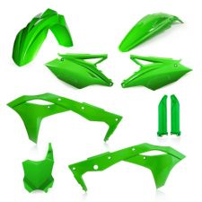 New KXF 250 18 19 Green Acerbis Plastic Kit Motocross KXF250 2018 2019 Plastics
